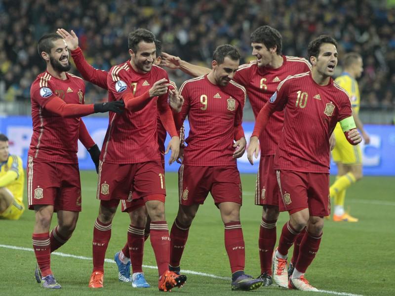 Gólová radosť Španielov z jediného gólu zápasu