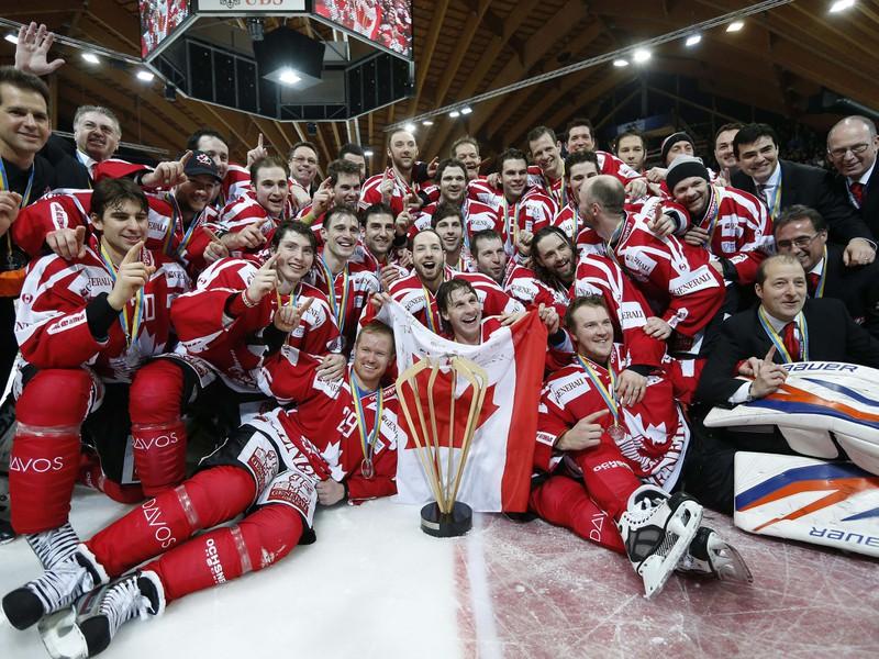 Kanadský tím vyhral uplynulý ročník Spengler Cupu