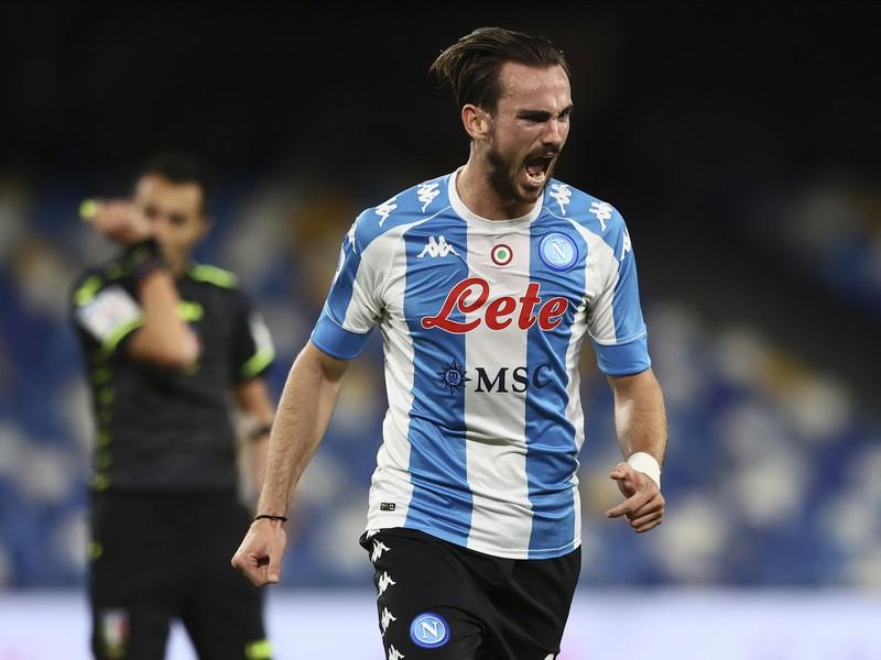 Hráč Neapola Fabian Ruiz