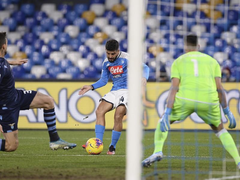 Lorenzo Insigne strieľa jediný gól zápasu