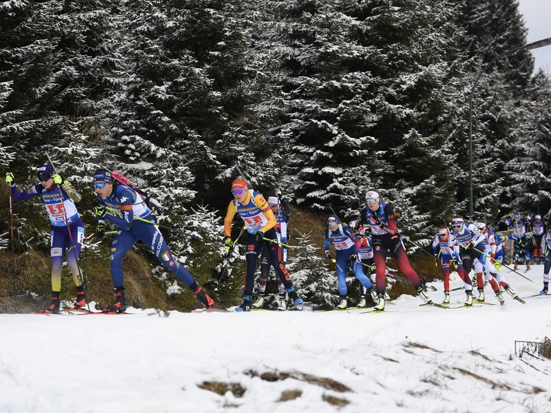 Biatlonistky v štafete žien na 4x6 km