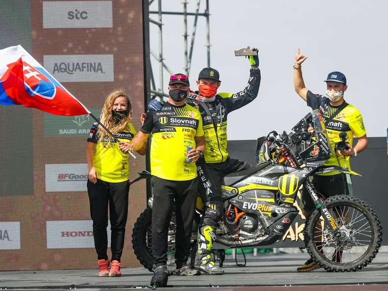 Štefan Svitko dosiahol na Rely Dakar skvelý výsledok