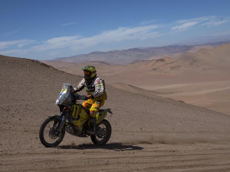 Štefan Svitko obsadil v stredajšej 4. etape na Rely Dakar 2015 deviate miesto