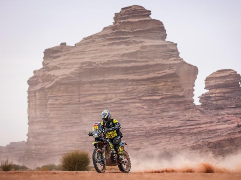 Štefan Svitko počas pretekov Rely Dakar