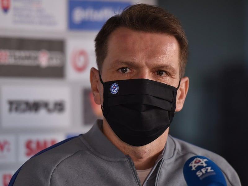 Tréner slovenskej futbalovej reprezentácie Štefan Tarkovič