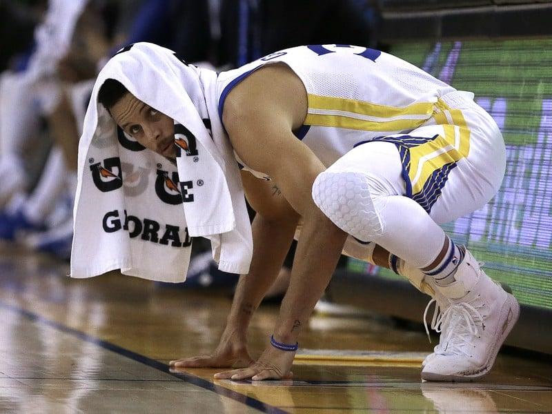 Basketbalista Golden State Warriors Stephen Curry