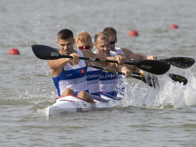 Slovenský štvorkajak získal na MS v Szegede bronzovú medailu