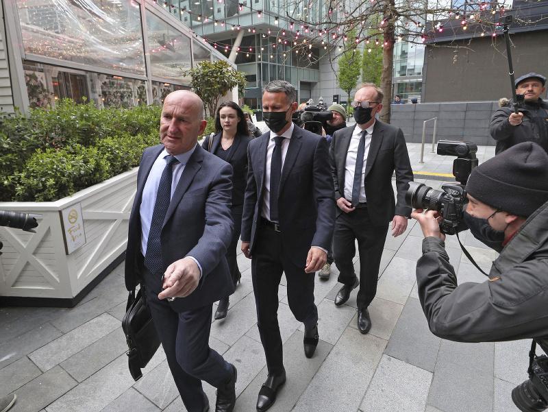 Ryan Giggs prichádza na súdne pojednávanie