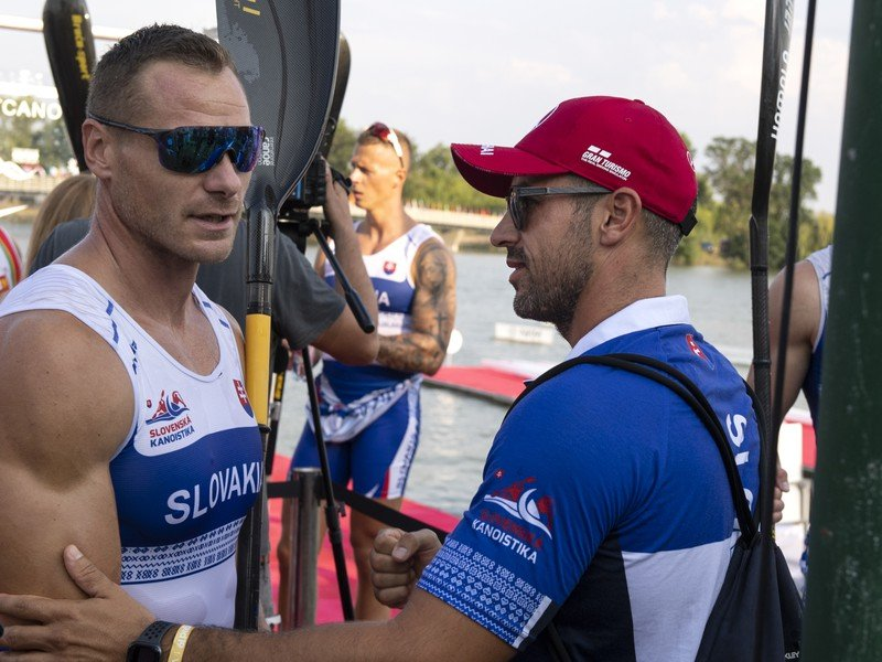 Peter Likér a Erik Vlček