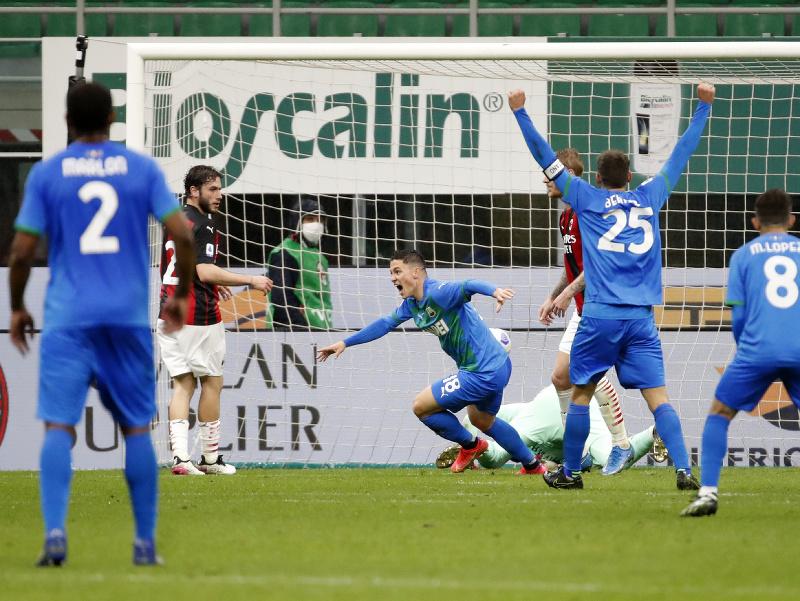 Giacomo Raspadori a jeho gólové oslavy