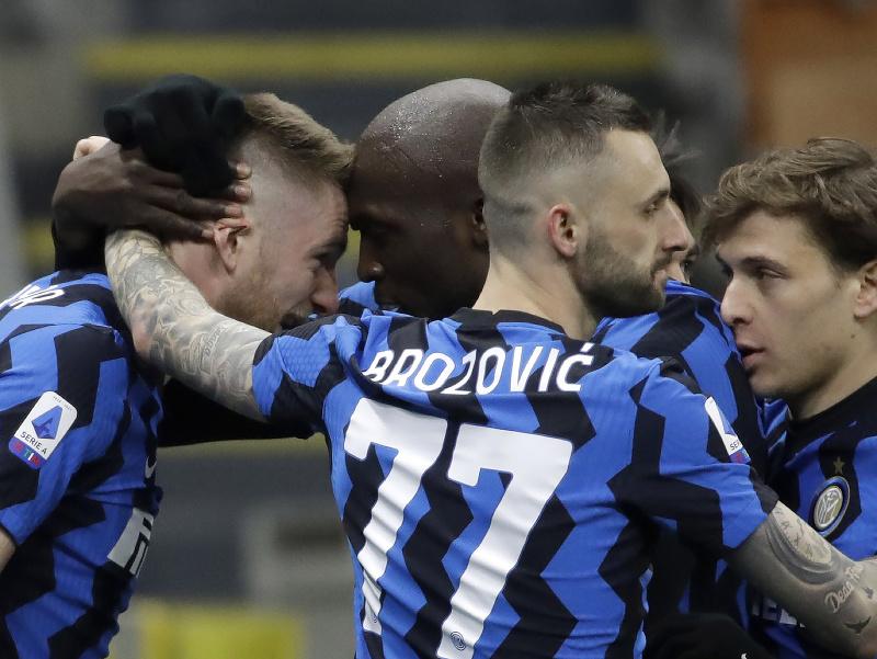 Milan Škriniar a jeho gólové oslavy po víťaznom zásahu