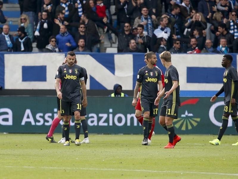 Sklamaní futbalisti Juventusu Turín