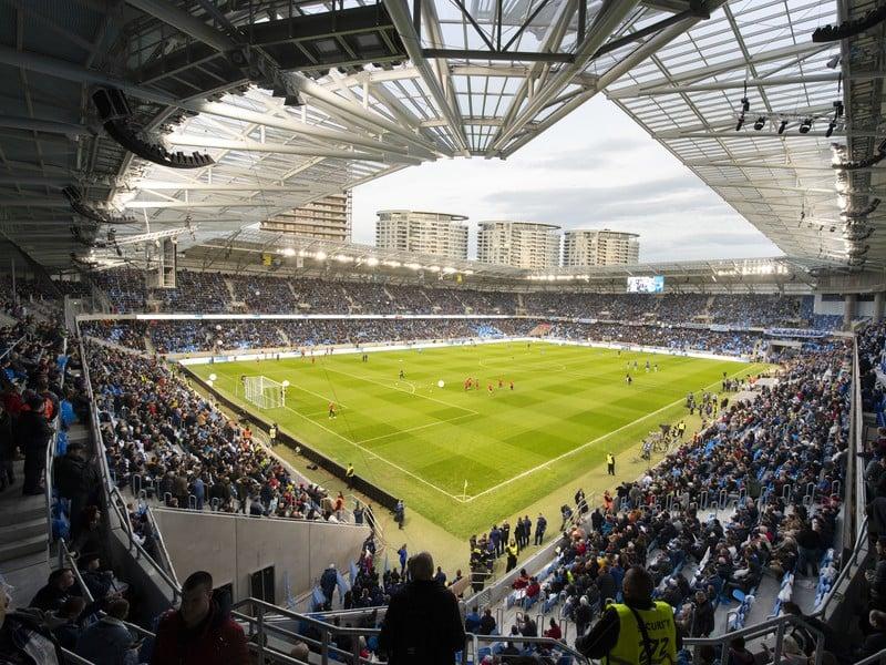 Nový štadión Tehelné pole pred derby s Trnavou