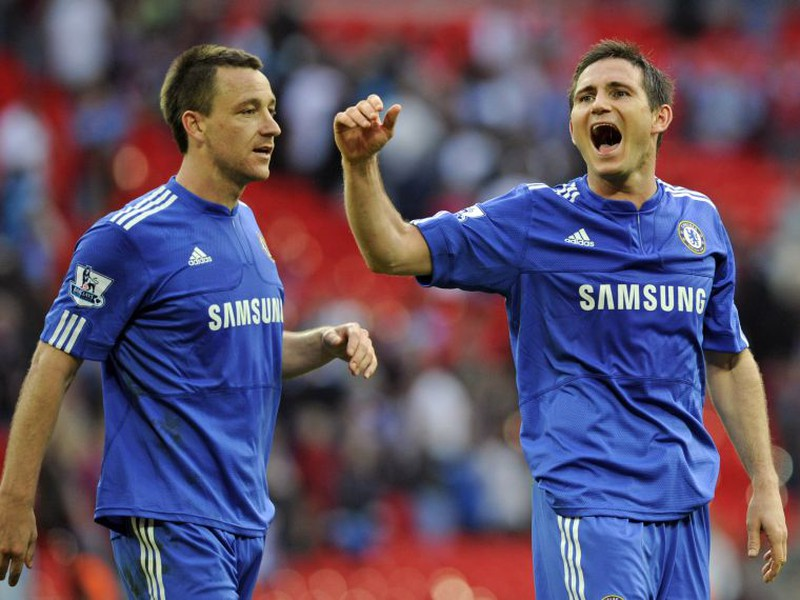 John Terry a Frank Lampard ešte v drese Chelsea