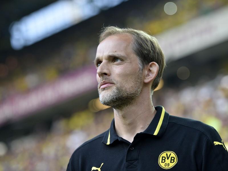 Tréner Dortmundu Thomas Tuchel