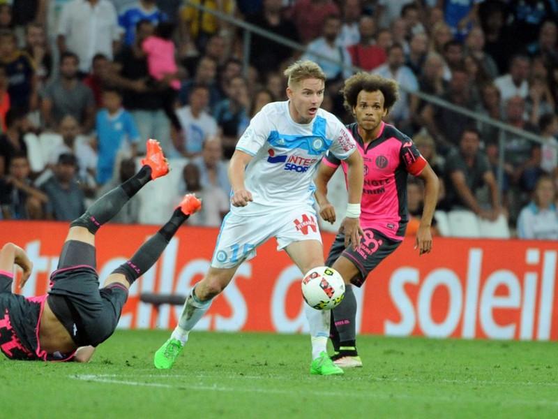 Tomáš Hubočan (pri lopte) zažil premiéru v drese Marseille