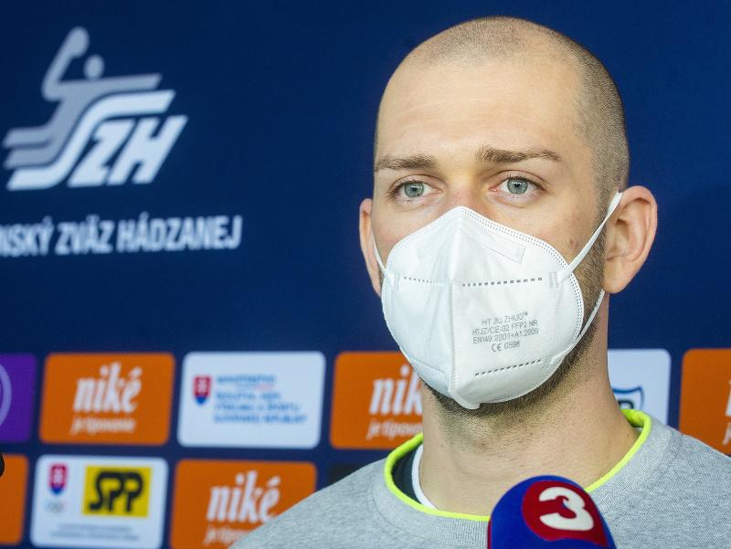 Slovenský reprezentant v hádzanej Tomáš Urban