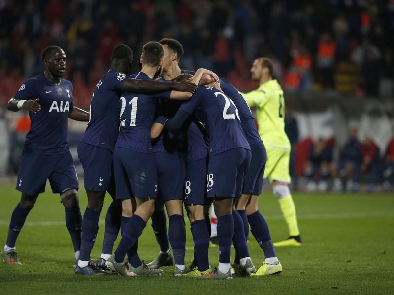 Radosť Tottenhamu Hotspur