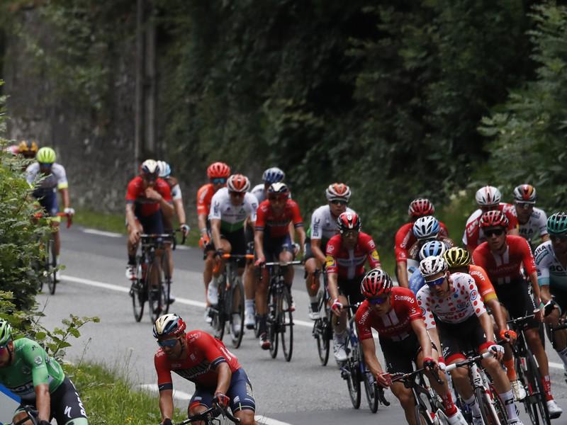 Peter Sagan v 12. etape na Tour de France
