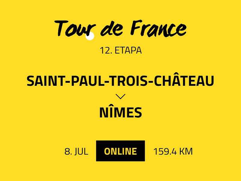 12. etapa Tour de France