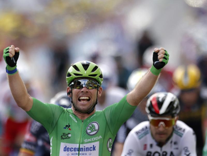 Mark Cavendish víťazom 6. etapy Tour de France 2021