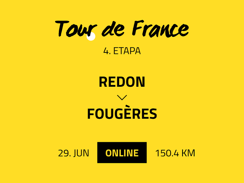 4. etapa Tour de France