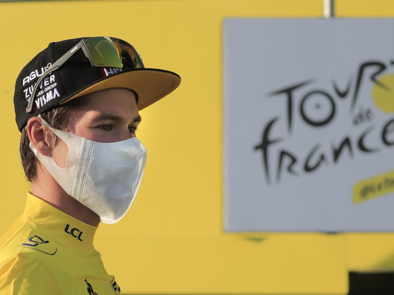 Líder Tour de France 2020 Primož Roglič