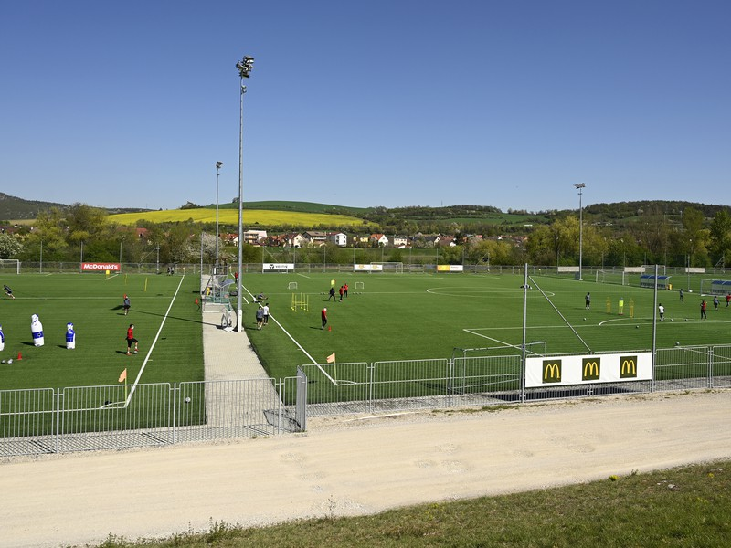 Futbalové ihrisko v Trenčíne