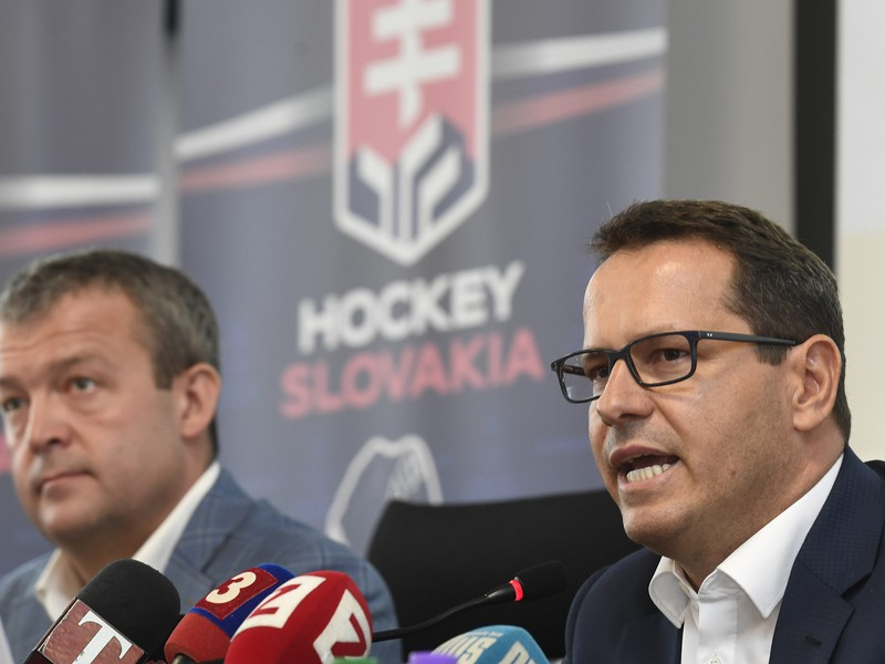 Prezident Slovenského zväzu ľadového hokeja Martin Kohút