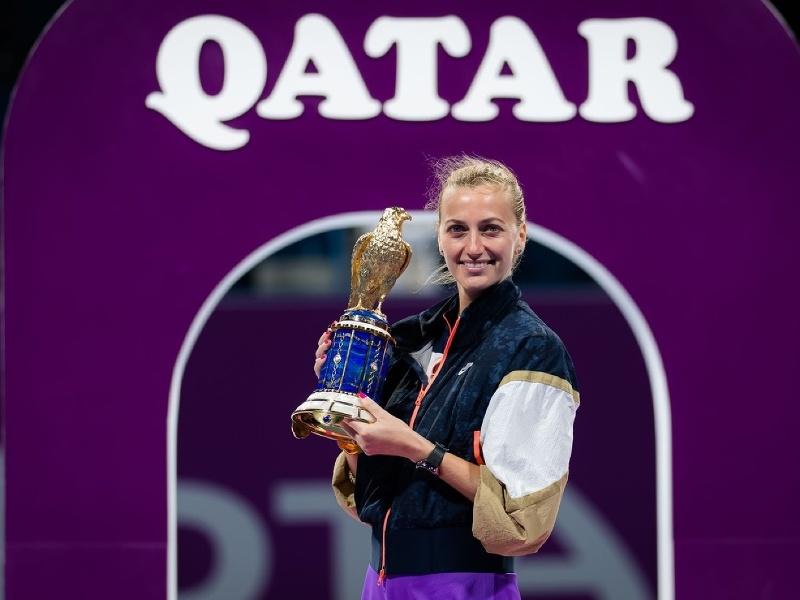 Petra Kvitová ovládla turnaj v Dubaji