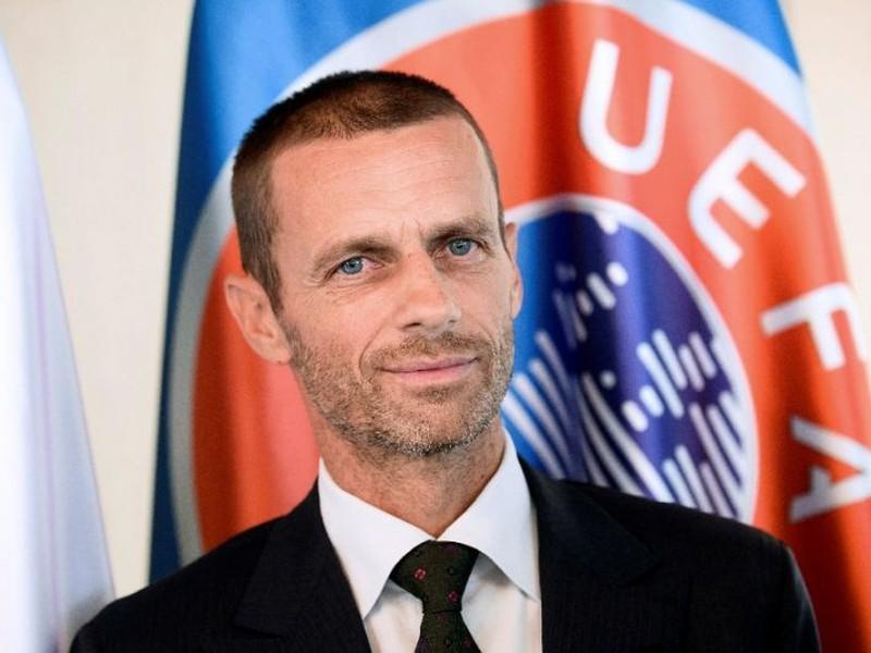 prezident UEFA Aleksander Čeferin