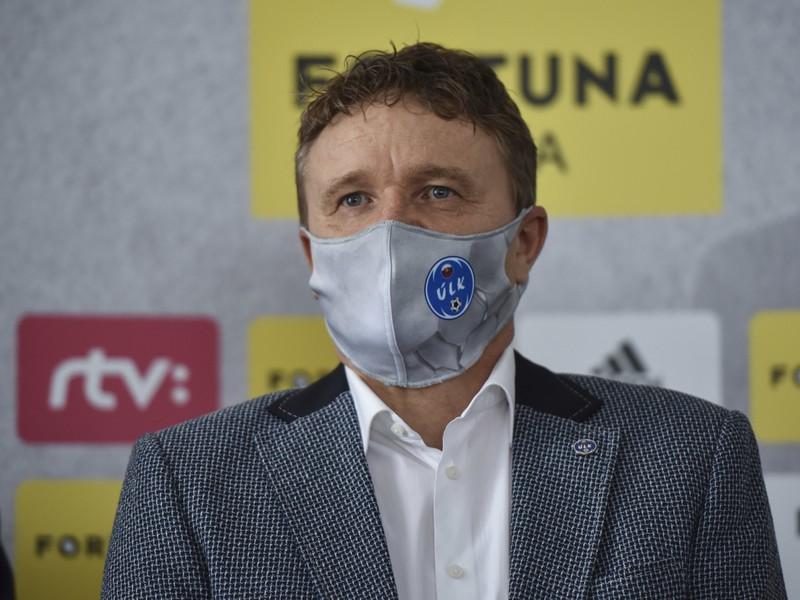Prezident Únie ligových klubov Ivan Kozák
