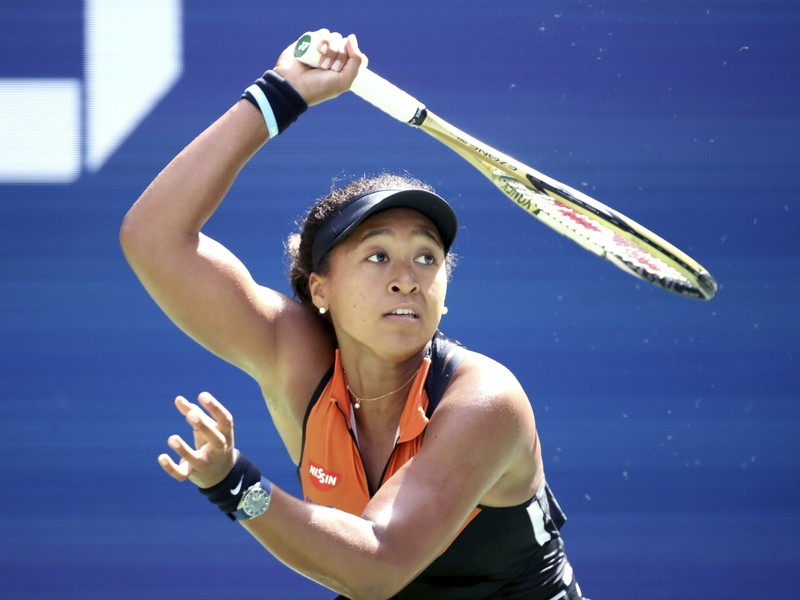 Na snímke japonská tenistka Naomi Osaková