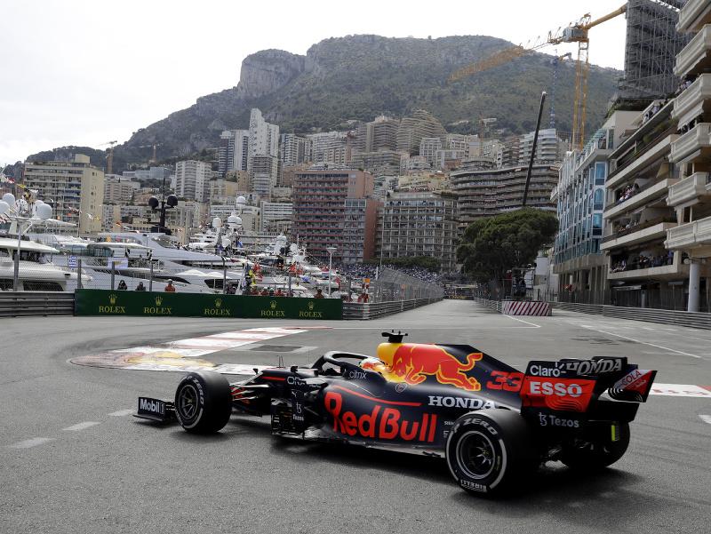 Max Verstappen na Veľkej cene Monaka