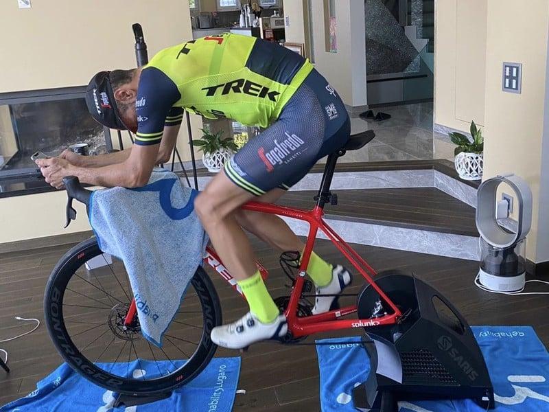 Záver trasy Miláno - San Remo si virtuálne vyskúšal aj Nibali