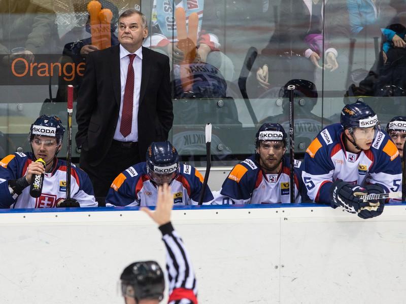 Tréner olympijského výberu Slovenska Vladimír Vůjtek