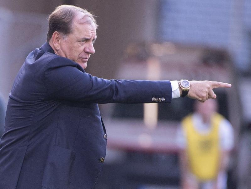 Tréner Slovana Vladimír Weiss