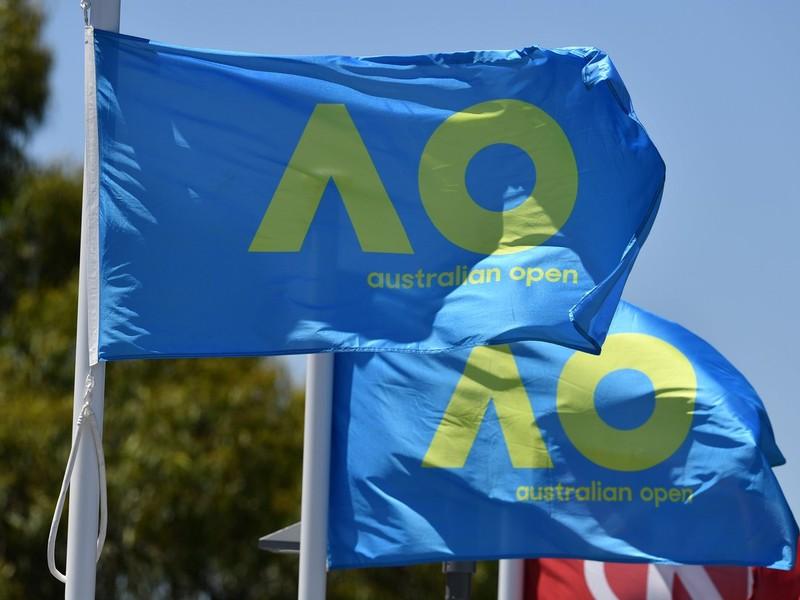 Vlajka Australian Open