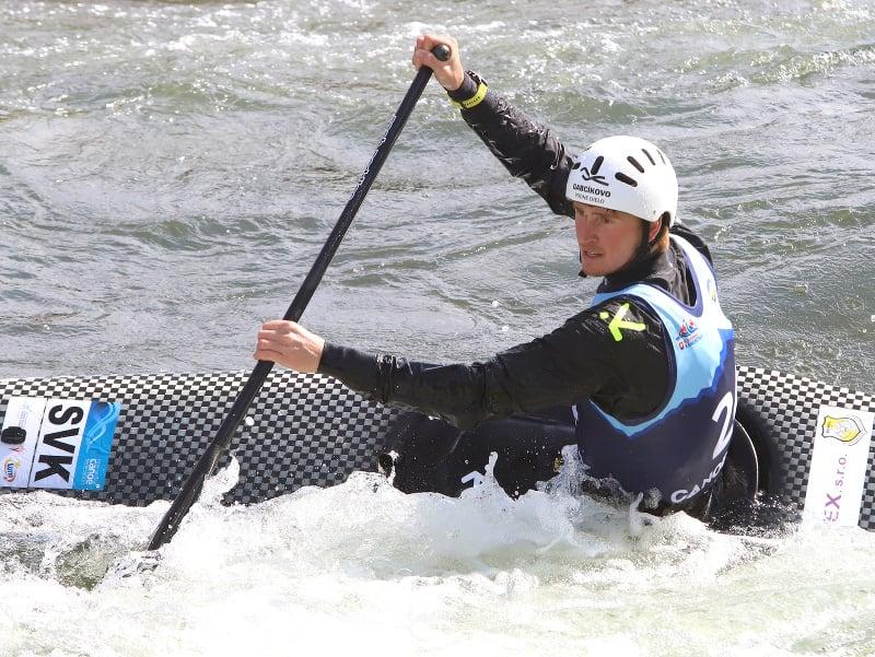 Na snímke slovenský kanoista a reprezentant vo vodnom slalome Marko Mirgorodský