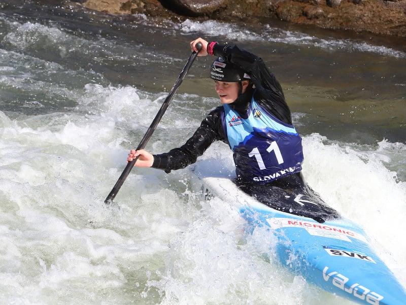 Slovenská kanoistka a reprezentantka vo vodnom slalome Zuzana Paňková
