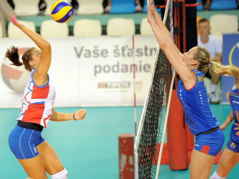 Slovenky v prvom zápase finále podľahli Azerbajdžankám