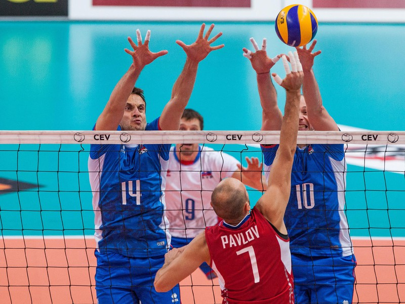 Slovákov preveria v kvalifikácii na ME vo volejbale Estónci a Gréci