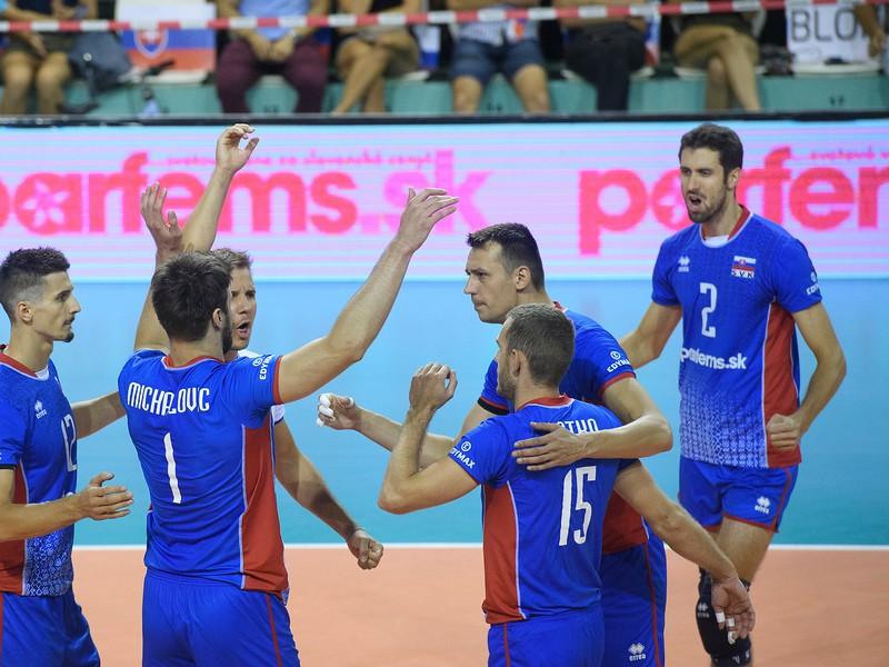 Radosť slovenských volejbalistov