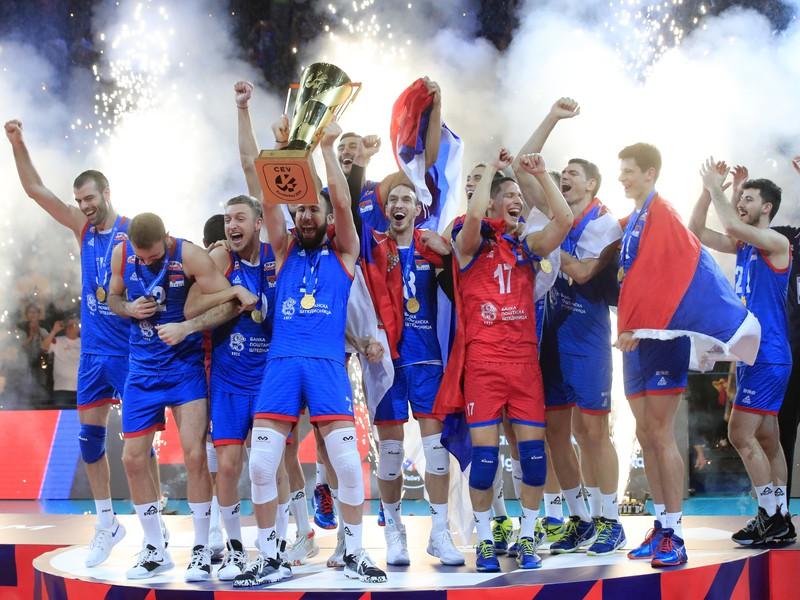 Volejbalisti Srbska sa stali majstrami Európy
