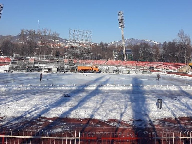 Príprava na Winter Classic