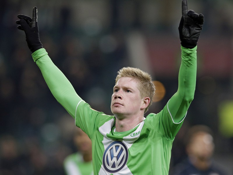 Kevin De Bruyne sa stal hrdinom Wolfsburgu