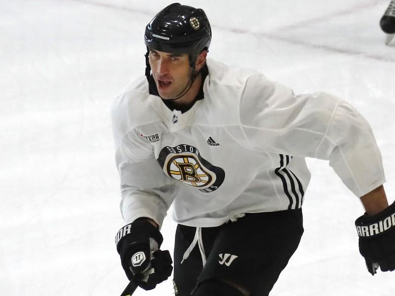 Zdeno Chára ešte v drese Bostonu Bruins