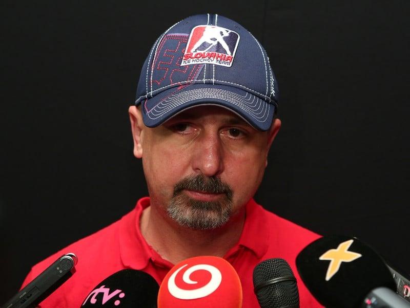 Tréner slovenskej reprezentácie v hokeji Zdeno Cíger