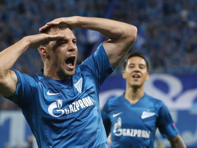 Artem Dzjuba a jeho gólová radosť