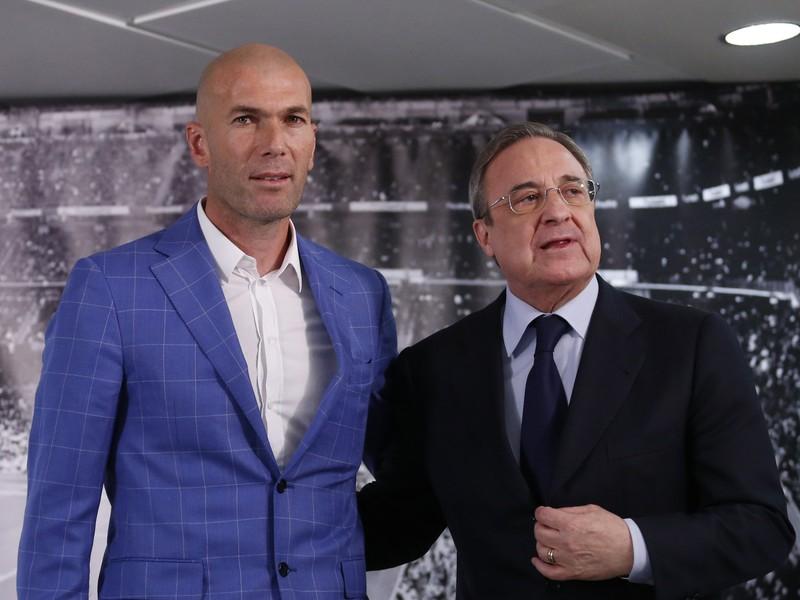 Zinedine Zidane a Florentino Pérez